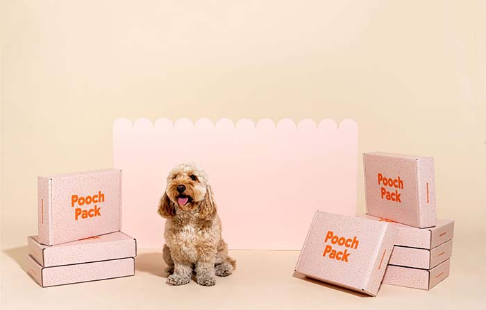 Pooch Pack, alimentos orgánicos saludables para mascotas