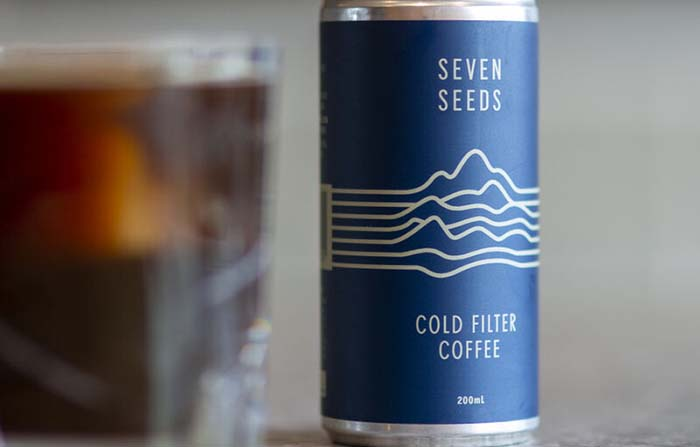 Seven Seeds, café enlatado refrigerado premium con el método Snap Chill