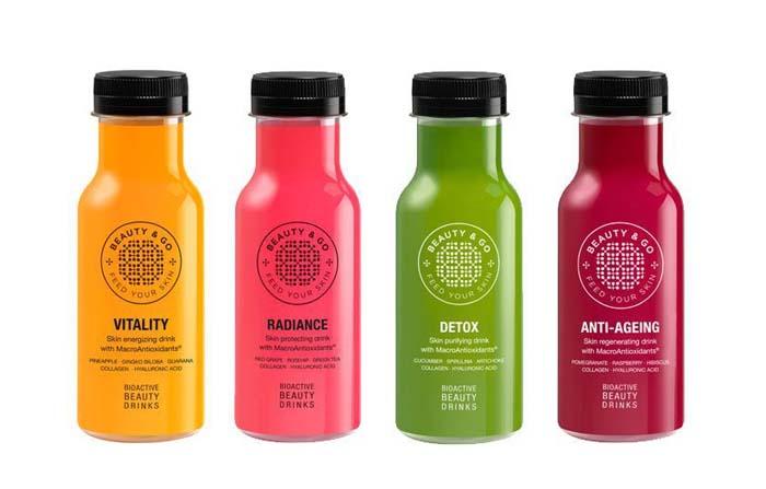 Beauty&Go, bebida de belleza bioactiva con macromoléculas antioxidantes