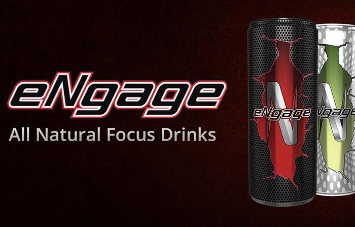 eNgage, bebida con enfoque en el nicho de mercado de los gamers