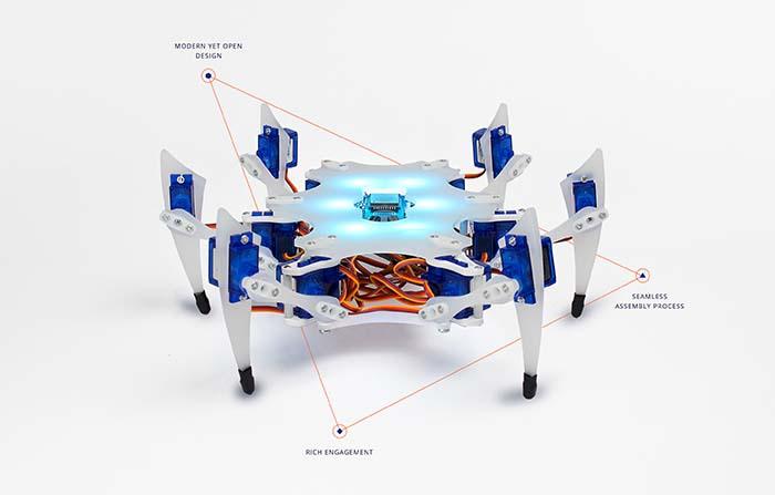 Stemi, kit robótico para enseñar a niños y niñas habilidades tecnológicas