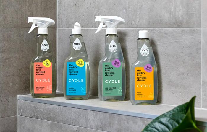 Cycle, los primeros limpiadores de hogar reciclados del mundo