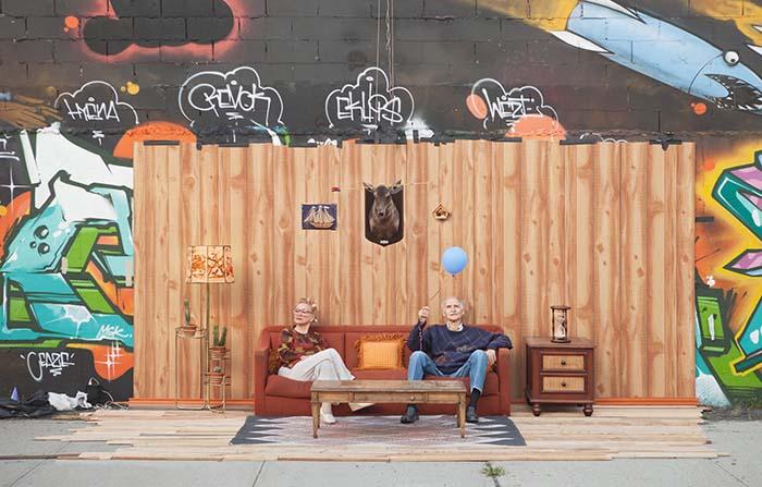 Set in the Street, los creativos escenarios fotográficos en Nueva York