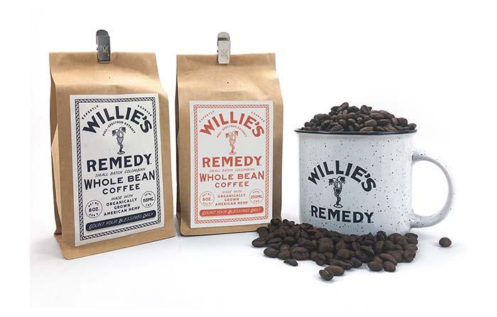 Willies Remedy, café infusionado con matices de cannabis (CBD)