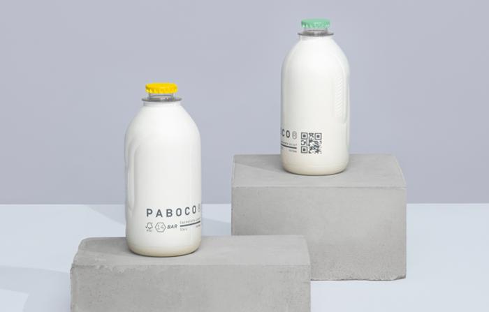Paboco, botellas de papel reciclables hechas con materiales renovables
