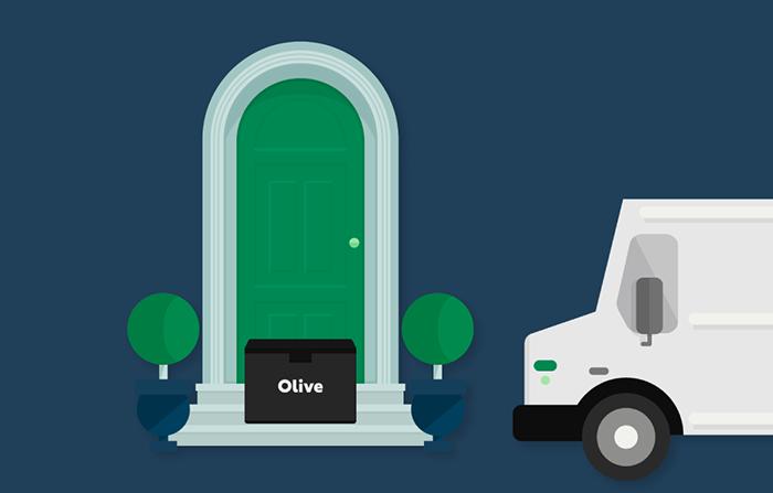 Olive, servicio para evitar las cajas de cartón en compras online
