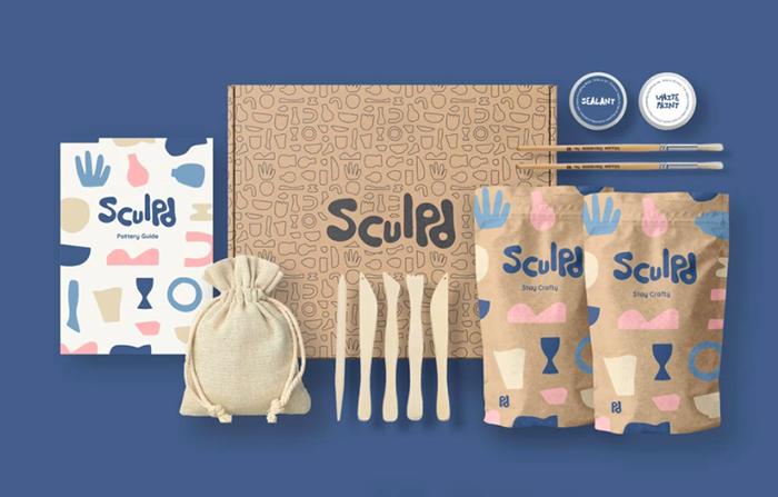 Sculpd, kits de arcilla do it yourself para disfrutar en casa